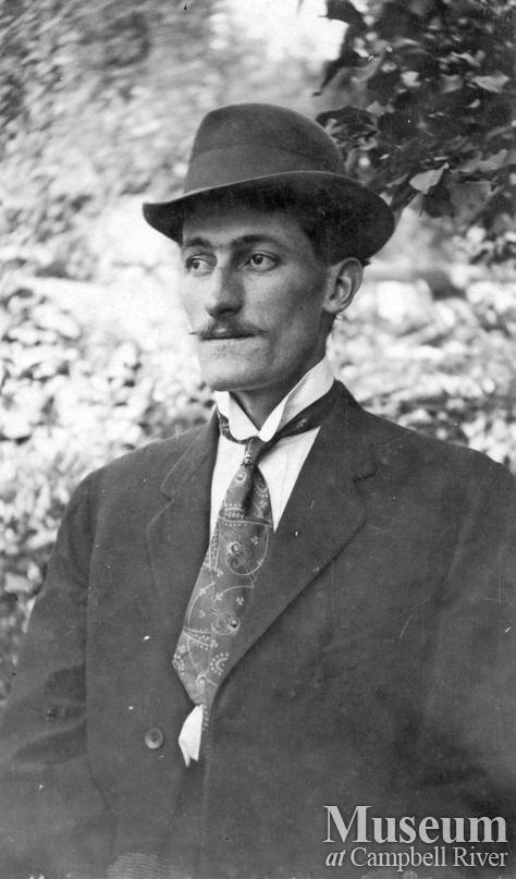 Captain James A. Nixon of Twin Islands, B.C.
