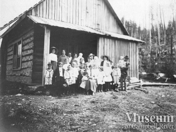 School at Granite Bay,  Quadra Island
