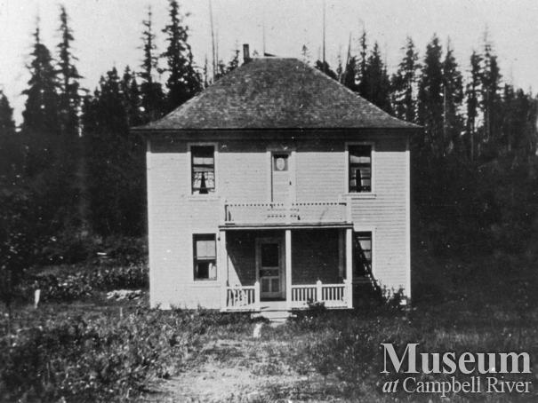 Bert Middleton home at Whaletown, Cortes Island