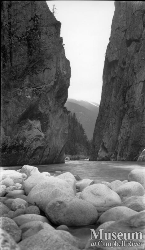 Either the Homathko or the Southgate River, head of Bute Inlet