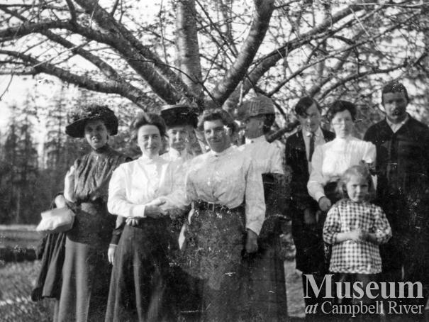 Members of the Marlatt family