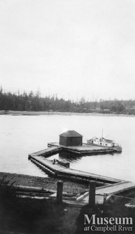 The wharf at Port Neville